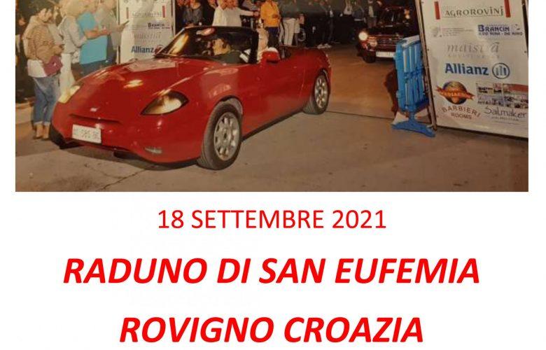 18 SETTEMBRE 2021 RADUNO DI SAN EUFEMIA ROVIGNO CROAZIA